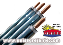 Solarne vakuumske cevi - Solarni vakuumski kolektori sa vakuumskim cevima za grejanje vode ptv stv,  kuce WT-B58 Westech  Solar - Srbija